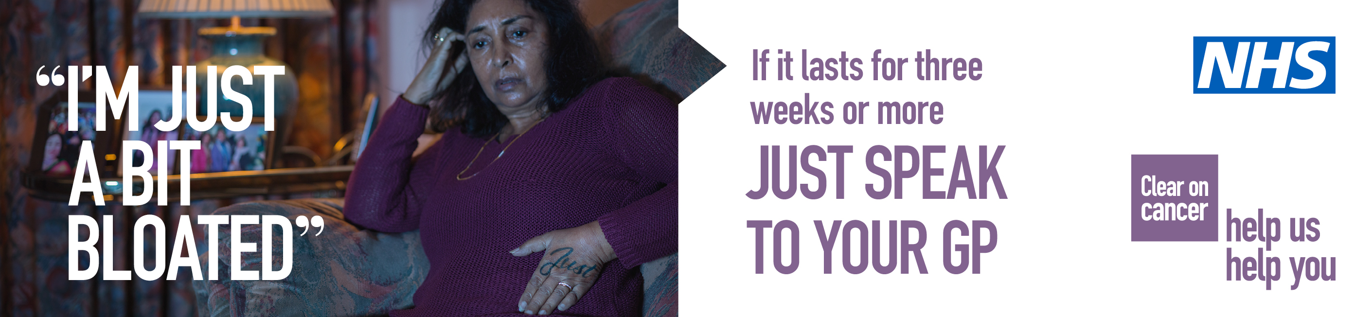 'Help Us, Help You' campaign urges Yorkshire and the Humber residents not to ignore warning signs of abdominal cancer